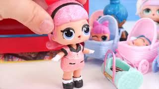 LOL Surprise Dolls Lil Sisters Vending Machine + Confetti Pop