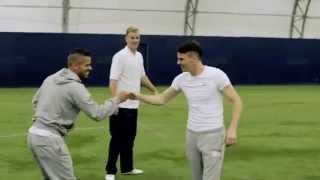 F2 Freestylers test Joe Hart's Tekkers......