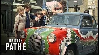 Out Takes / Cuts From Cp 662 - Reel 2 Of 3 - Swinging Britain (1967)