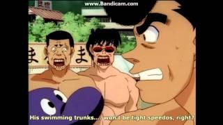 Ippo's tight speedos?