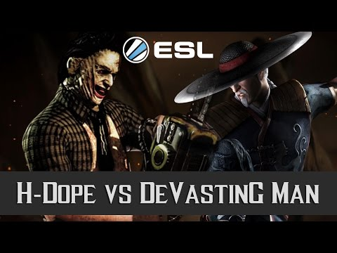 MKXL - ESL EU CC Sunday #9 Semifinal - H-Dope vs DeVastinG Man