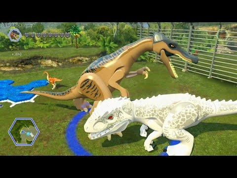 LEGO Jurassic World (game) - Jurassic Park wiki