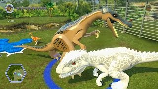 LEGO Jurassic World game 🎮 ALL dinosaurs demoed!