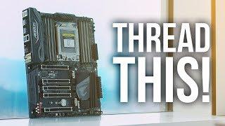 Gigabyte X399 - AMD Threadripper on top of Taipei 101!