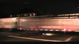 CSX P923-16 RBBX Blue Unit Circus Train - Tampa, FL - Thursday November 17, 2011
