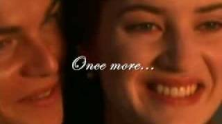 Celine Dion - My Heart Will Go On (TITANIC) Lyrics on screen!!