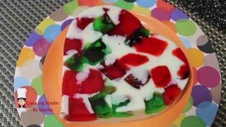 Broken Glass Pudding || Bangladeshi Style Broken Glass Pudding || Bangladeshi Pudding Recipe