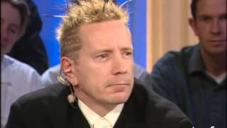 Interview biographie Johnny Rotten - Archive INA