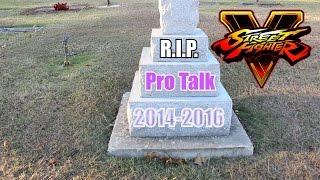 RIP Capcom Pro Talk- SFV
