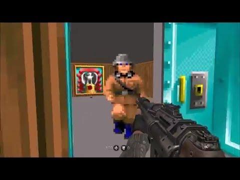 Wolfenstein: The New Order - Wolfenstein 3D Easter Egg