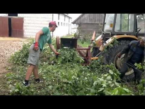 rębak rozdrabniacz do gałęzi wynajmę Siedlce wood chipper