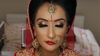 Real Bride   Asian Bridal Makeup   Traditional Signature Look