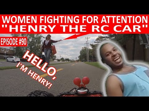 WOMEN FIGHTING FOR ATTENTION OF