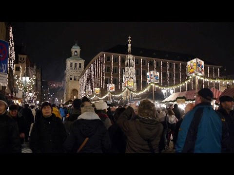 Nürnberger Christkindlesmarkt 2015 in 4K (2. Test DJI OSMO X3)