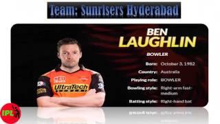 Sunrisers Hyderabad Squad /Team || Sunrisers Hyderabad || Sunrisers Hyderabad Player || IPL 2017