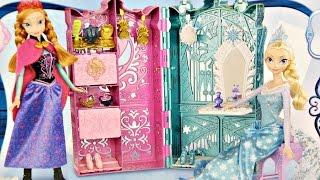 Dual Vanity Playset / Królewska Garderoba Anny i Elsy - Disney Frozen - Mattel - BDK36