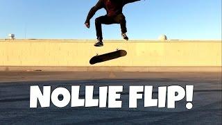 Nollie Kickflip Trick Tip | Ashton Kelley