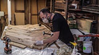 How to Build a Marri Herringbone Table