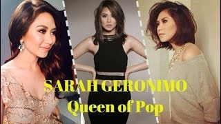 Sarah Geronimo - EXPLOSIVE HIGH NOTES for 15 Years l 2003 - 2018