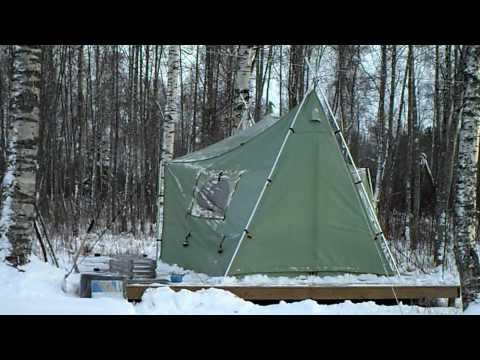Winterizing our Cabelas Bighorn II Tent