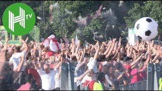 Hyde Park erupts as Kieran Tripper scores against Croatia