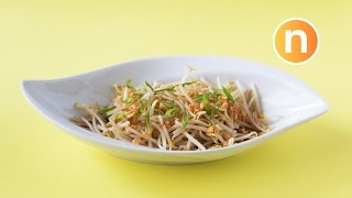 Bean Sprouts with Fried Garlic Nyonya Cooking uploaded on 02-10-2018 48330 views