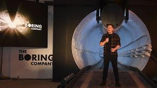Inside the Tunnel That Elon Musk Hopes Will Solve