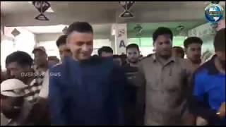 AIMIM Floor Leader Akbaruddin Owaisi Inaugurates Party Office at Eidibazar | Overseas News