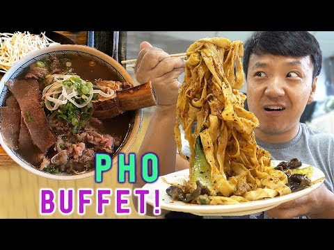 All You Can Eat PHO NOODLE SOUP & Week in Palm Springs