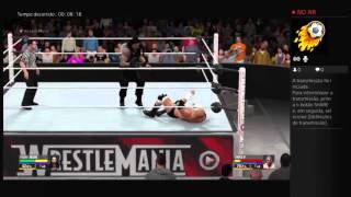 Roman Reigns vs Triple H WWE World Heavyweight championship WRESLEMANIA 32