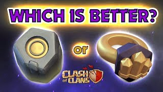 RUNES or RINGS - Which is BETTER in Clash of Clans?