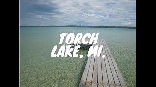 Torch Lake, MI. Summer '17 In 4K