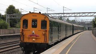 *MEGA 9 TONE* Hastings DEMU 1001 on 1Z07 Crewe to Hastings passing Tamworth 12/7/2014