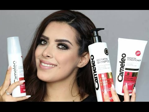 Haircare Routine with Delia/ Cameleo Products //kurdi