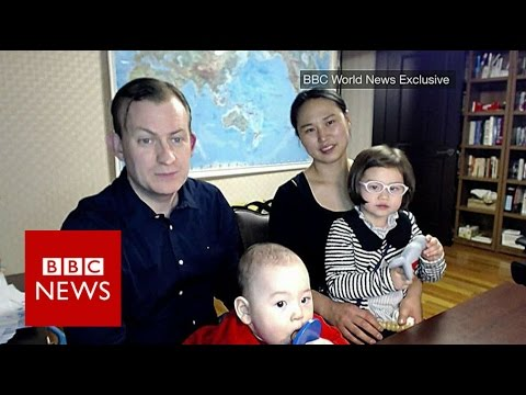 Prof Robert Kelly is back & this time his wife & children are meant to be in shot BBC News