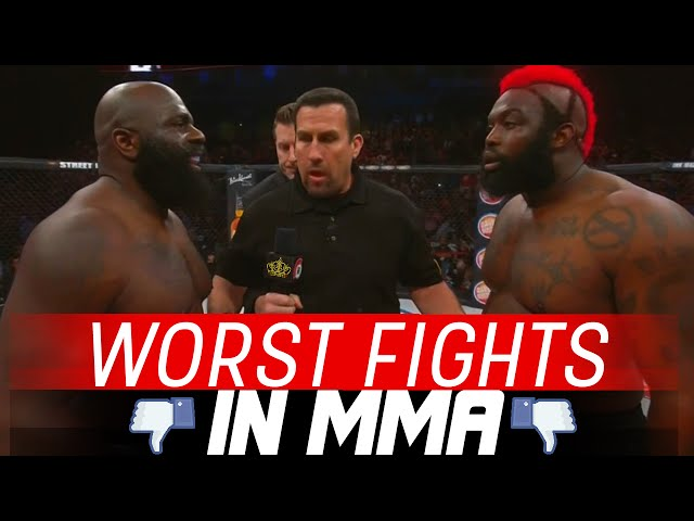 The Worst Fights In MMA