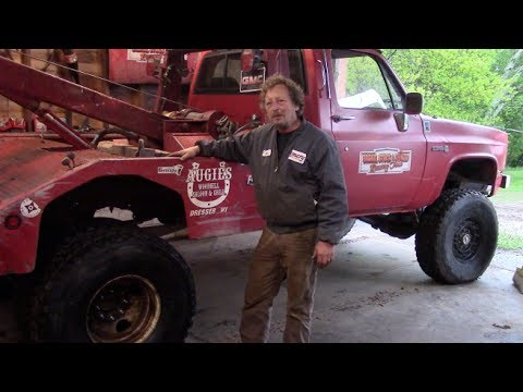 NEW TIRES FOR THE WRECKER by BSF Recovery Team