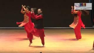 Couple Dance Performance :  Gallan Gudiyan Song : Sampada's Dance Studio Singapore