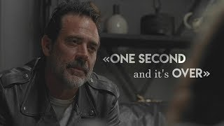 The Walking Dead || «One second and it