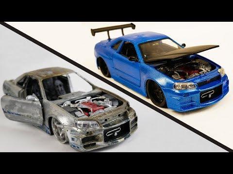 Xxx Mp4 Repair Abandoned Toy Car 2 Nissan Skyline GTR R34 3gp Sex