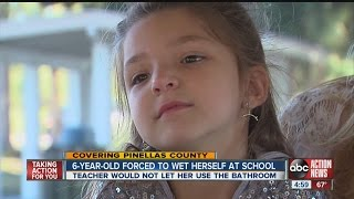 Tarpon Springs Student Forced to pee pants then wear diaper