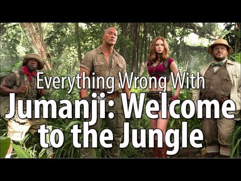 Everything Wrong With Jumanji Welcome to the Jungle
