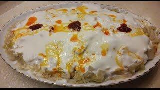 Yoğurtlu Lahana Salatası tarifi- Pratik Hafif Salata tarifi- Ev Lezzetleri