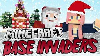 Christmas Secrets!   Minecraft Base Invaders Challenge