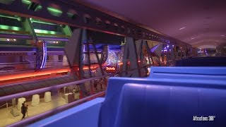 [4K] PeopleMover in Tomorrowland at Magic Kingdom - Walt Disney World