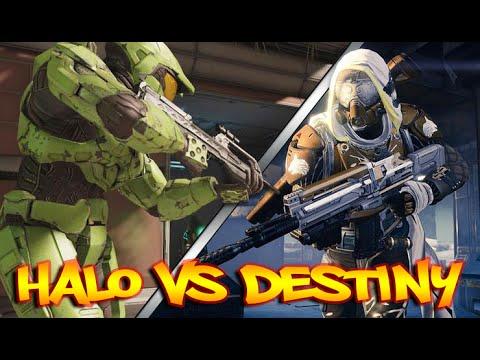 Halo VS Destiny Rap Battle!!! #MOTW   Daddyphatsnaps