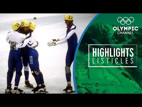 Top 5 most stunning moments in Olympic Short Track Speed Skating Highlights Listicles