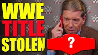 WWE TITLE STOLEN!! NBA Player Wants To Wrestle In WWE! Former WWE Wrestler Quits! Wrestling News