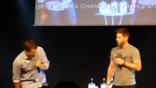 Jibcon 2015 - Jensen & Misha Sunday Panel (Part 1/2)