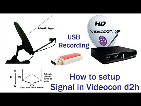 Xxx Mp4 How To Setup Signal In Videocon D2h Or USB Recording Unlimited 3gp Sex